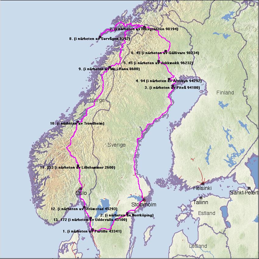 storforsen karta Berg till Lofoten storforsen karta